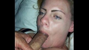 Dick suck and cum swallow