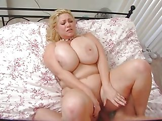 cute blonde with big tits