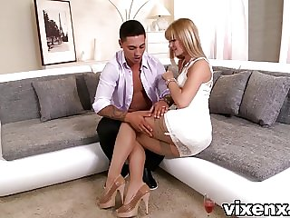 Charlyse Bella and Erica Fontes threesome sex