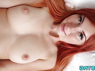 Date Slam - Freckle-faced redhead gets fucked