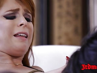 Redhead succubus Penny Pax pounded into squirting