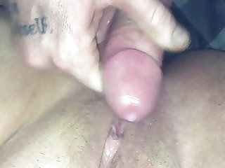 Young boy fucks chubby milf raw and cums on her