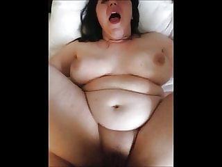 Chubby Girl Sucks Cock Amateur POV fuck & fingering in Hotel