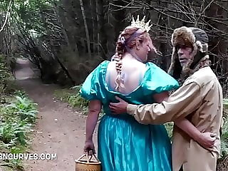 The Lumberjack takes her home for anal sex