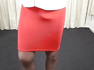 Red Skirt and Pantyhose.mp4