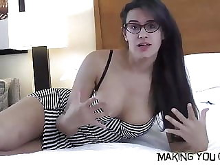 I want to watch you suck your first cock
