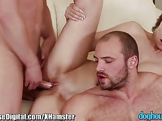 DogHouse Bisex Cock Sharing Couple