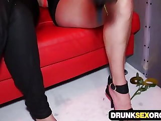 Nasty orgies at the group sex party