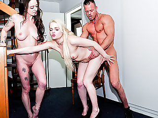 LETSDOEIT - German Swinger Couple Rock a Threesome with BFF