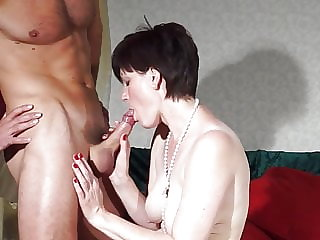 Taboo home sex with hot amateur mother