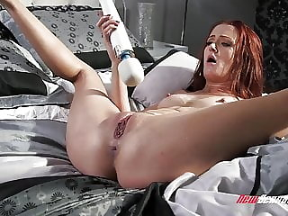 Andi Rye Squirting on James Deen Cock