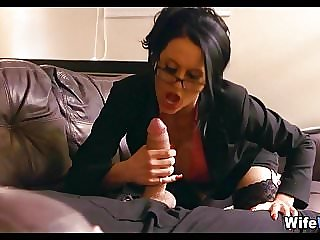 Big Tit MILF with Glasses