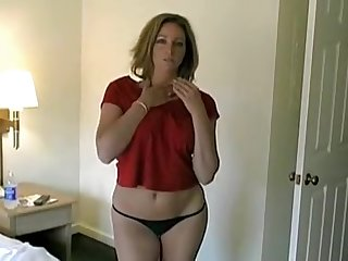My super hawt wife is stripping for me