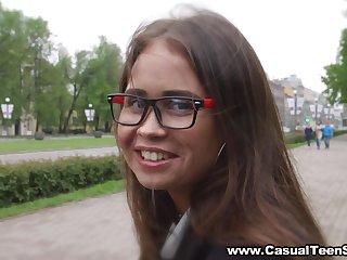 Casual Teen Sex - Veronika Fare - Filming and fucking a