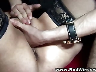 Real hooker fisted after sucking dick and cant get enough