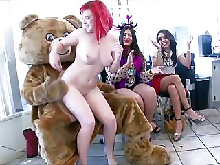 Birthday Party with Cock Hungry Ladies