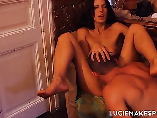 LUCIE MAKES PORN All Night Home Party