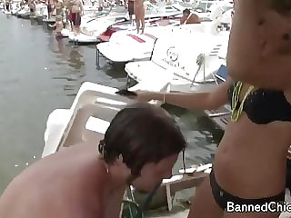 College girls having fun in this amateur footage