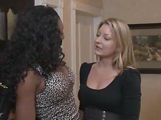 Incredible Lesbian porn scene