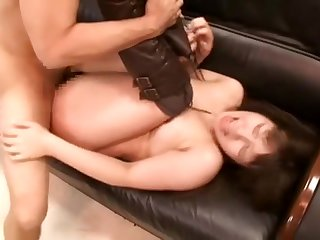 Busty Japanese MILF fucked relentlessly