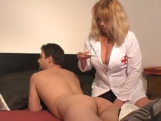 Hawt French Older Nurse
