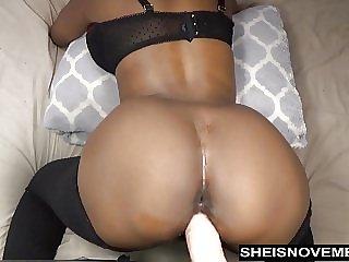 Sexy Ebony Msnovember Take Anal Dildo Doggystyle Live Webcam