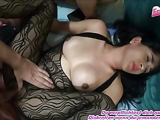 GERMAN SWINGER PARTY WITH BLONDE AND TUERK MOM