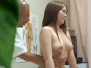 Happy Japanese coquette prefers getting fingered hard