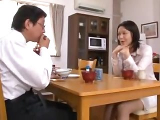 Japanese wife taken and used
