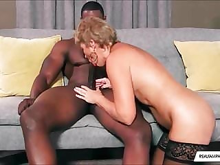 Interracial BBC Fucks Hot Mature