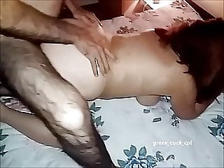 Greek hotwife plowed