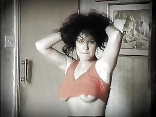 POP MUSIK - vintage 80's jiggling tits dance strip