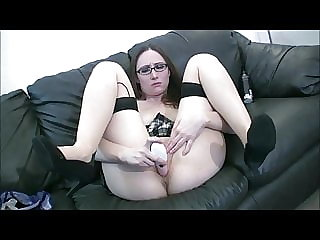 Sexy babe in glasses......