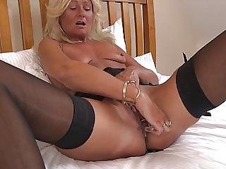 Mature tiny tits but long legs