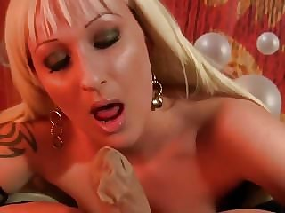 Sexy German Nylon BJ