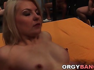 Group fucked babes jizzed
