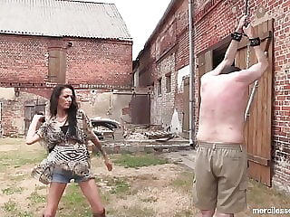 Beaten - Hard Whipping with German Mistresses