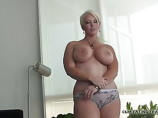 Talk dirty to me while you jerk your cock CEI