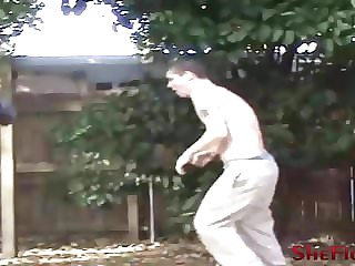 Dee's First Beatdown - Outdoor Fight With no Mercy