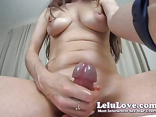 Lelu Love-You Suck MY Cock Cumshot On YOUR Face