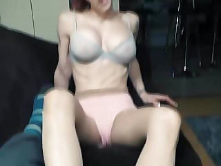 Teasing my step brother with chasity
