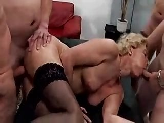 German aged banged in all holes