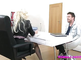 FemaleAgent English stud loves Czech pussy