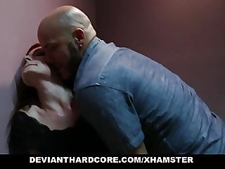 DeviantHardcore - Redhead Gets Her Holes Violated