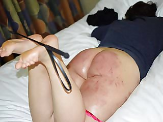 Her First Spanking Punishment