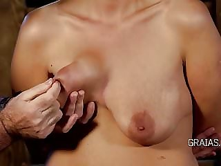 Tit and bottom whipping