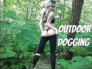 Outdoor Dogging Teen