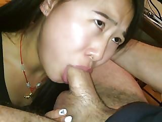 Cute Asian Tricked in Giving (The Best) Deepthroat Around #1