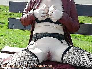 Dutch Milf Flashing and Playing in Doel, Belgium