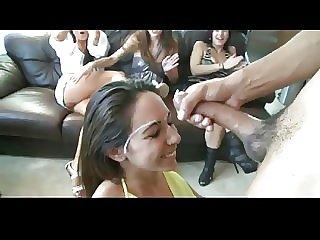 Girl Party Cumshot Compilation